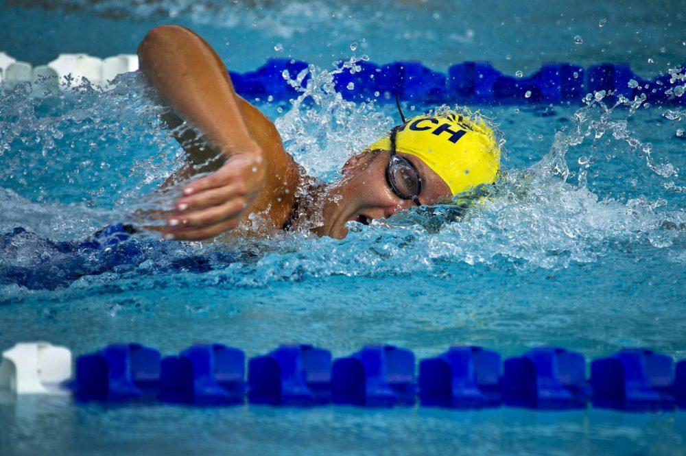 Zwemmen verbrandt veel calorieën