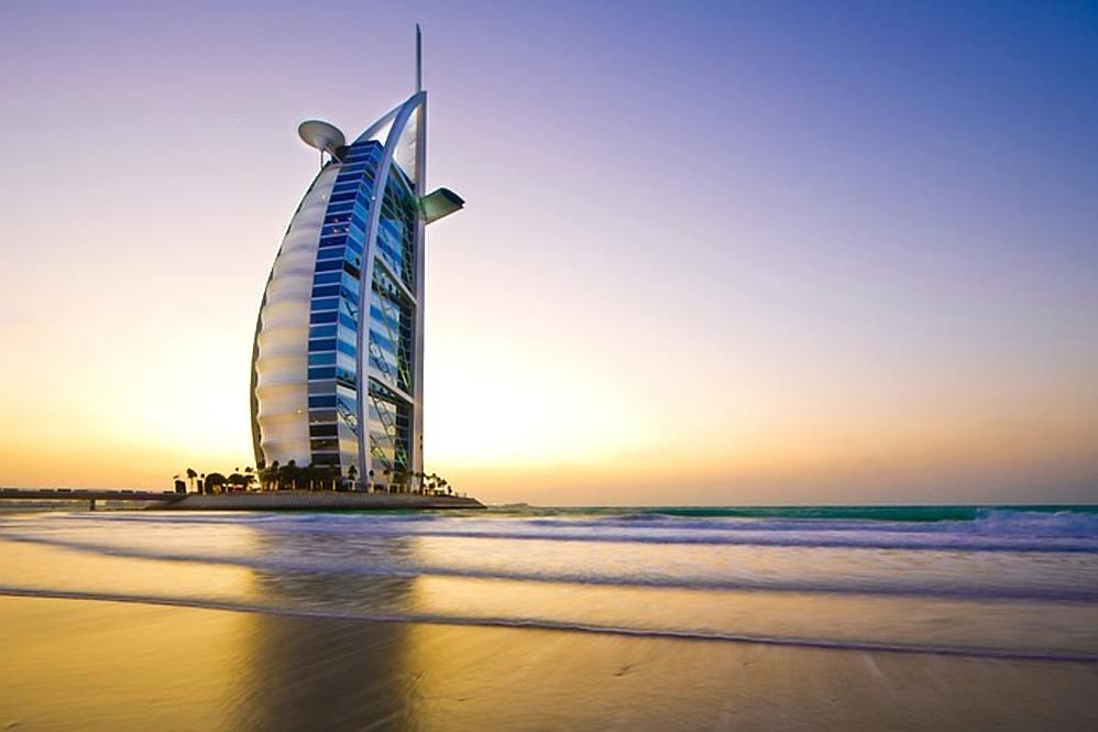 Burj Arab dubai 7 sterren hotel