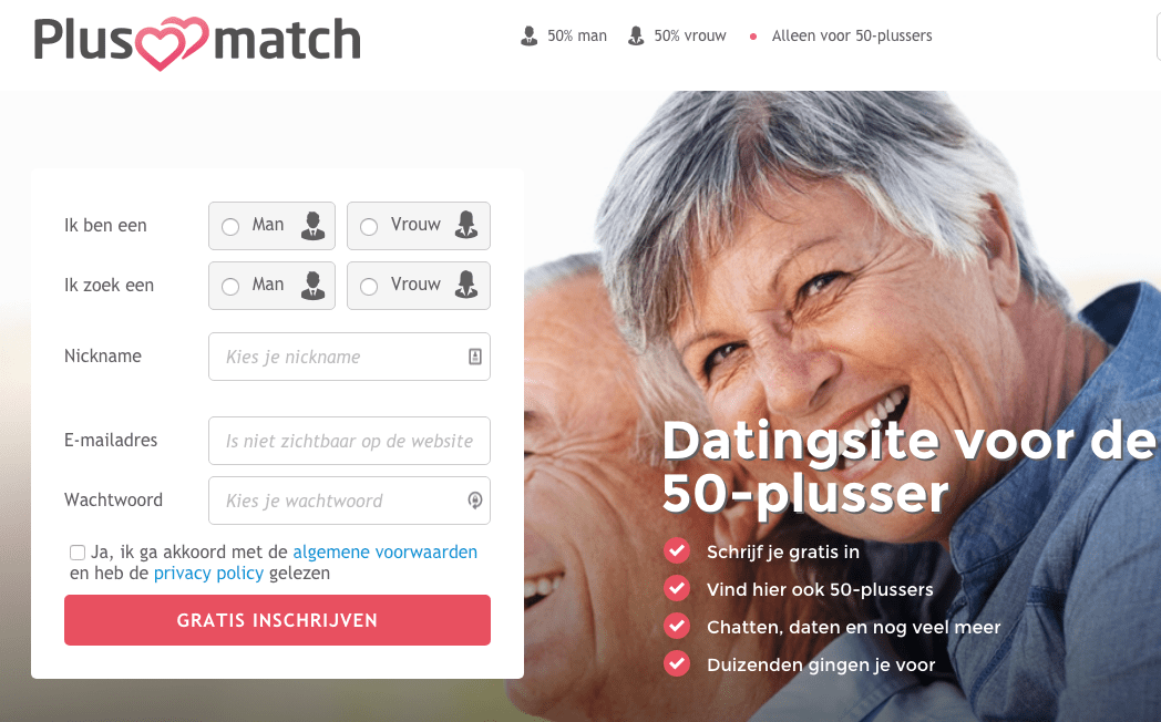dating 50 +