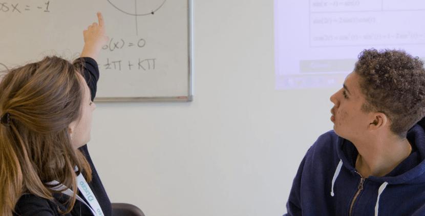 Bijles en les in de klas
