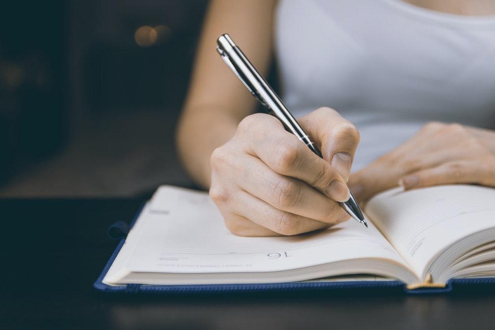 Schrijven met de hand