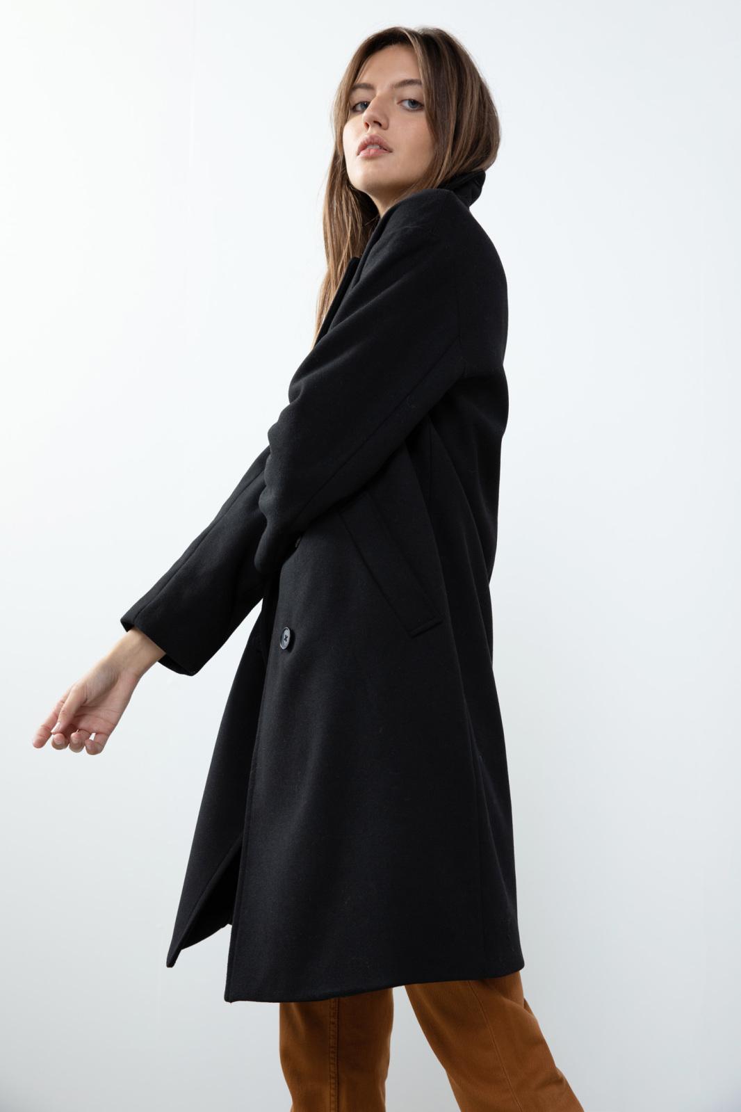 De lengte van de jas