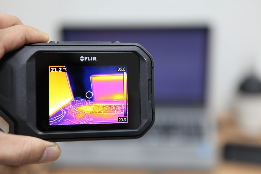 Verschillende soorten warmtebeeldcamera's